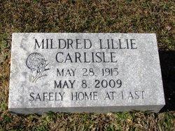 Mildred Lillie Carlisle