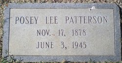 Posey Lee Patterson