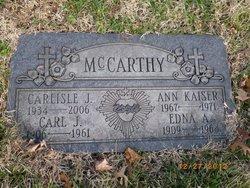 Carlisle John Carl McCarthy