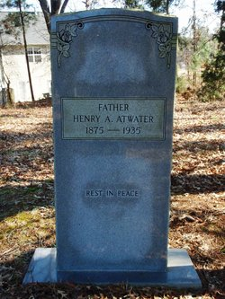 Henry A Atwater