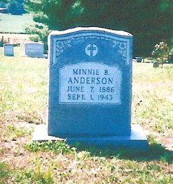 Minnie B. Anderson