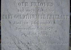 Mary Witherspoon <i>Goldthwaite</i> Freeland