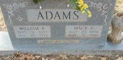 Macy Vernell <i>Crook</i> Adams