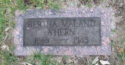 Bertha <i>Maland</i> A'Hern