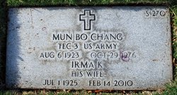 Irma Kwock Chang