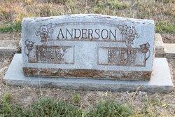 Hattie Lee <i>Harrison</i> Anderson