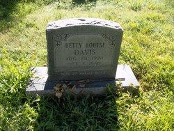 Betty Louise <i>Adkins</i> Davis