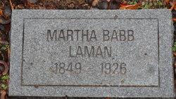 Martha A. L. <i>Babb</i> Laman