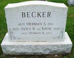Alice B <i>Kiehl</i> Becker