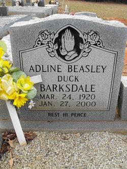 Adline <i>Beasley</i> Barksdale