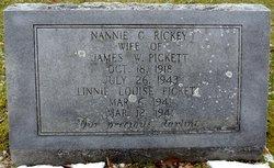 Nannie C. <i>Rickey</i> Pickett