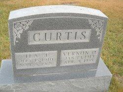 Ila Jane <i>Davis</i> Curtis