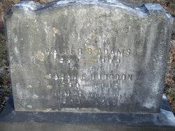 Sarah Elizabeth Lizzie <i>Hodgdon</i> Adams