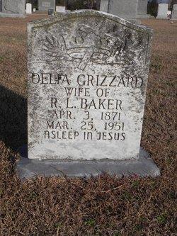 Delia <i>Grizzard</i> Baker