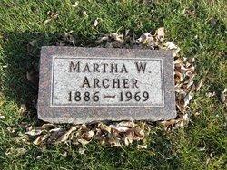 Martha W Archer