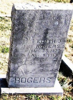 Edith J. <i>Hulsey</i> Rogers