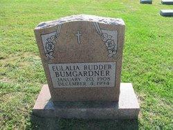 Eulalia <i>Rudder</i> Bumgardner