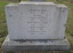 Eliza <i>Cotter</i> Shea