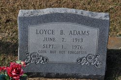 Loyce Ben Adams