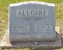 Arthur F Allgire