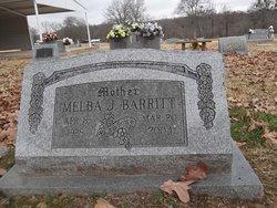 Melba Jean <i>Burcham</i> Barritt