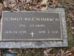 PFC Donald Wilson Harmon