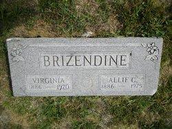 Virginia Alice Virgie <i>Medlin</i> Brizendine