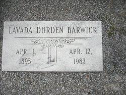 Lavada <i>Durden</i> Barwick