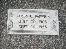 Dr James Green Barwick