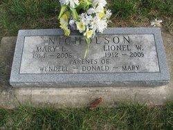 Mary Loretta <i>Berleen</i> Nicholson
