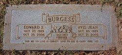 Rev Edward Earl Eddie Burgess
