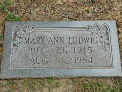 Mary Ann Ludwig