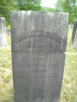 Susannah <i>Durgin</i> Brown