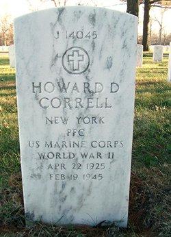 Howard D Correll