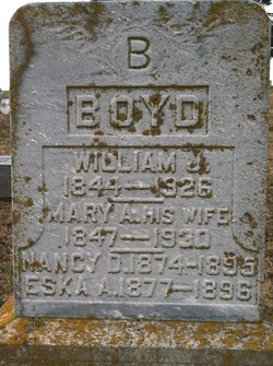 Mary Ann <i>Jones</i> Boyd