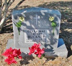 Clara Mae <i>Lackey</i> Buckner