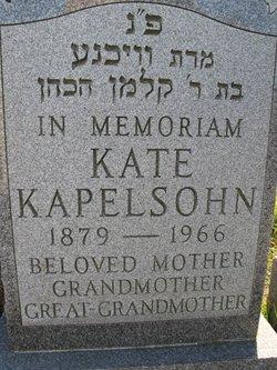Katherine Kate <i>Cohen</i> Kapelsohn