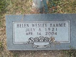 Helen Mae <i>Wesley</i> Hammie