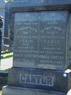 Miriam Nekha Mary <i>Yoelson</i> Cantor