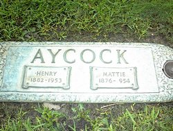 Martha L Mattie <i>Bobo</i> Aycock