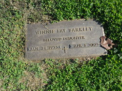 Winnie Fay Barkley