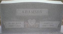 Ruth <i>Blue</i> Adamson