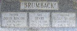 Susan R. <i>McAfee</i> Brumback