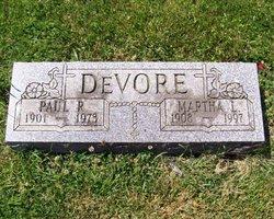 Martha L. <i>Casey</i> DeVore