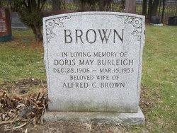 Doris May <i>Burleigh</i> Brown