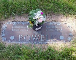 Martha Ann <i>DeVore</i> Powell