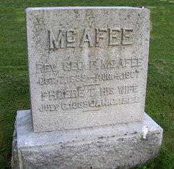 Rev George F. McAfee
