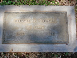 Ruben B Lowell