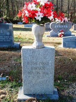 Bessie <i>Poole</i> Edwards