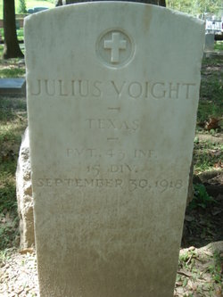 Pvt Julius Voight